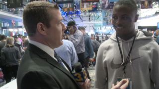 'Skins scoop: Wink chats 1-on-1 with Redskins receiver Terry McLaurin at Super Bowl LIV