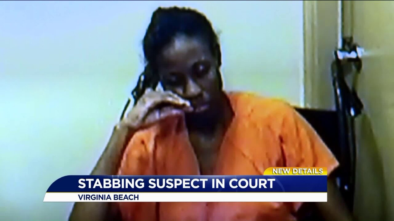 Woman accused of stabbing Virginia Beach credit union teller found not guilty by reason ofinsanity