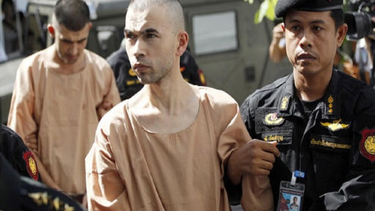 Thai military court rejects torture allegation in Bangkok bomb trial