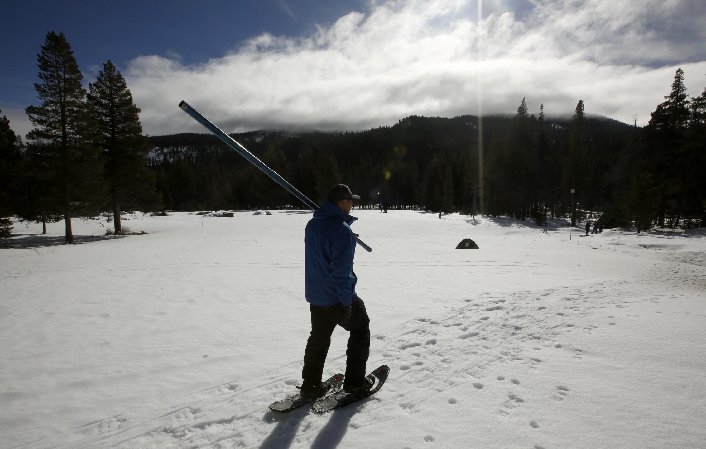 California Water Snow Survey