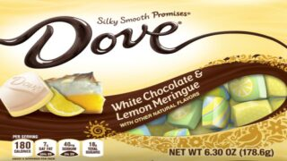 Dove's New Lemon Meringue Chocolates Sound Perfect For Spring
