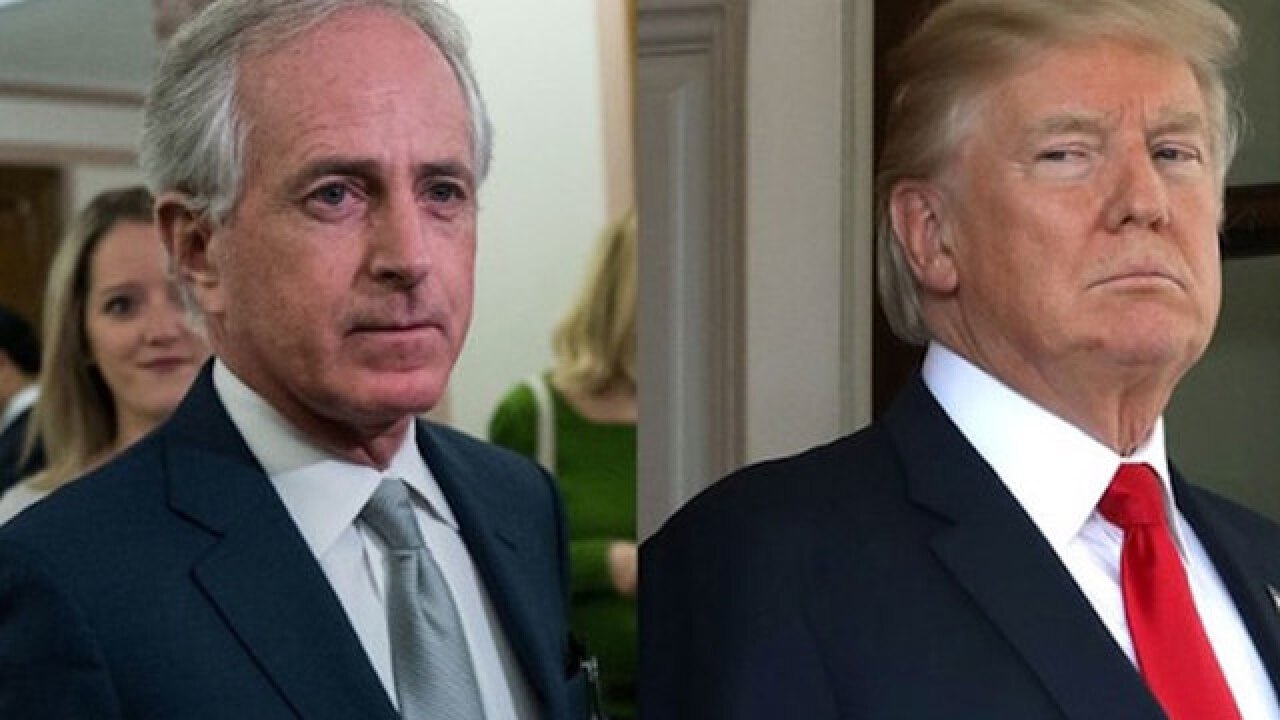 Corker: Trump Needs To Stop 'Whining' About Sessions
