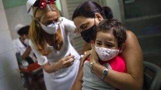 Virus Outbreak Cuba - Youth Vaccines