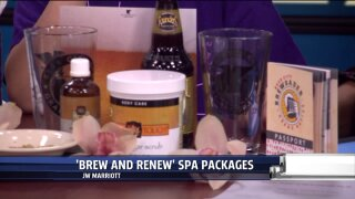 """""""Brew and Renew"""" with JW Marriot's SpaPackages"""