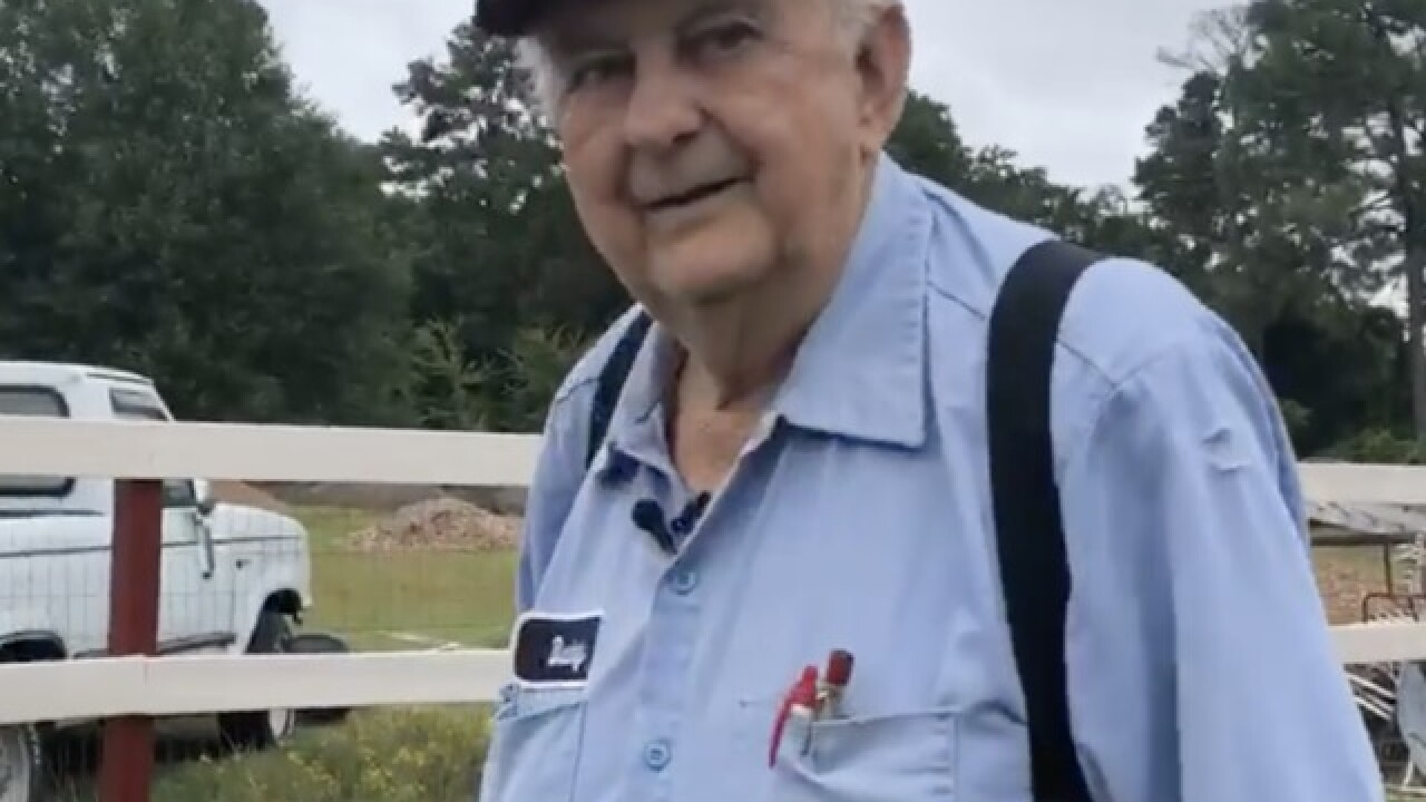 Buddy, a Fayetteville farmer, moves animals to safety as Hurricane Florence approaches