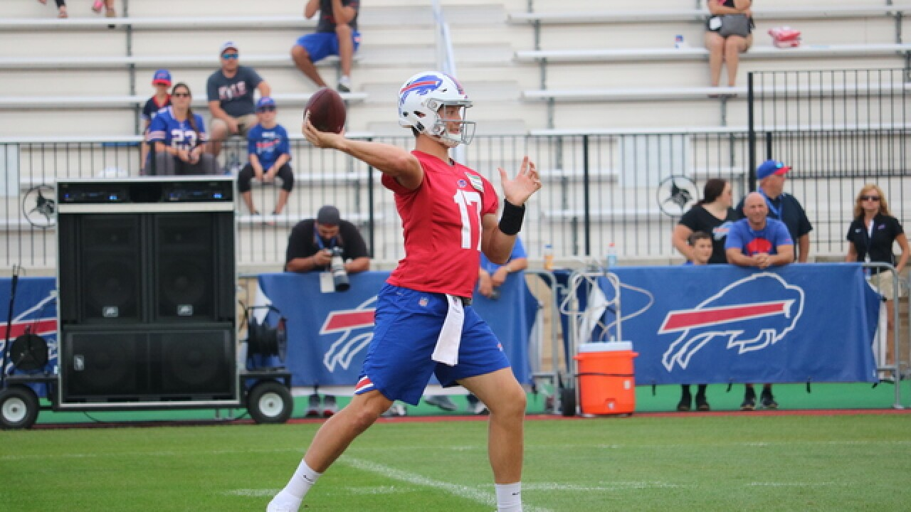 Buffalo Bills training camp at St. John Fisher primer