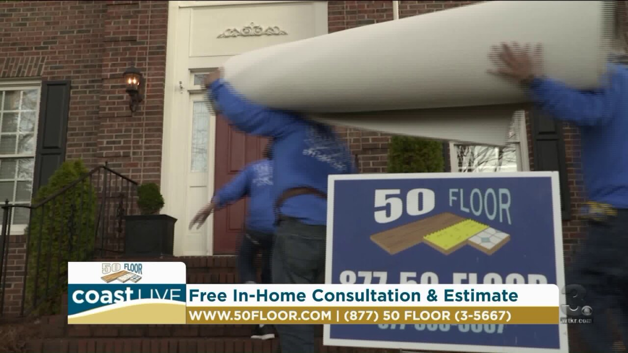 Improving your home with backsplashes and new flooring on CoastLive