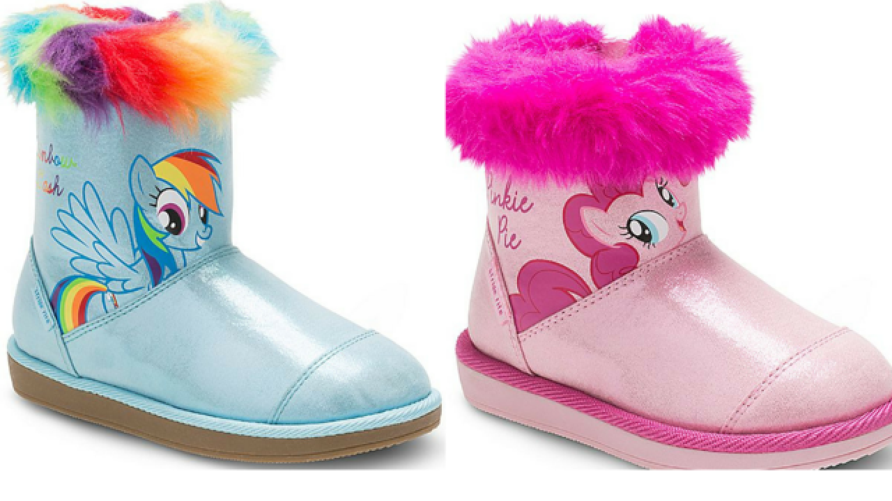 My Little Pony boots for $19.99 right now (regularly $52)