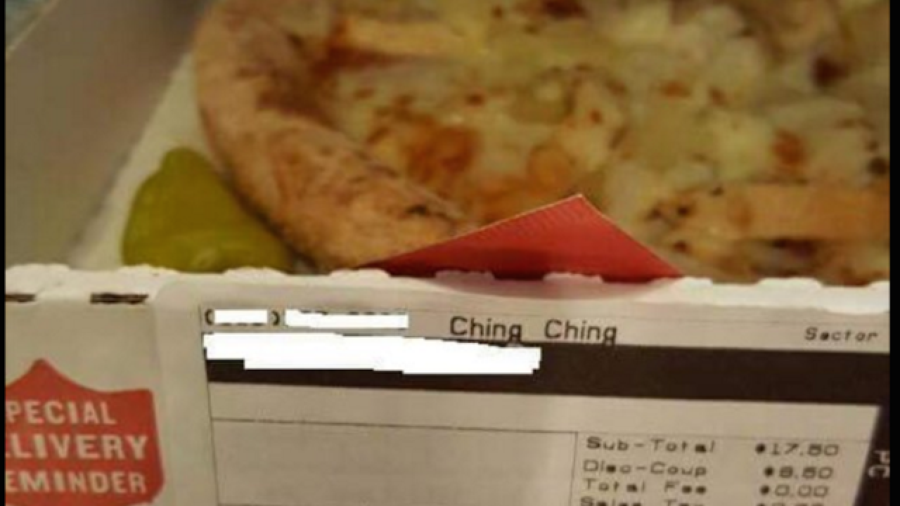 Pizza chain employee fired for racist message