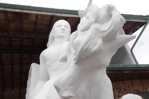 Construction on Crazy Horse Memorial has been ongoing for more than 70 years