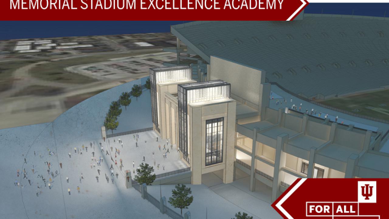 PHOTOS: Addition to IU's Memorial Stadium