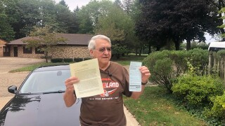 81-year-old man doubles ticket