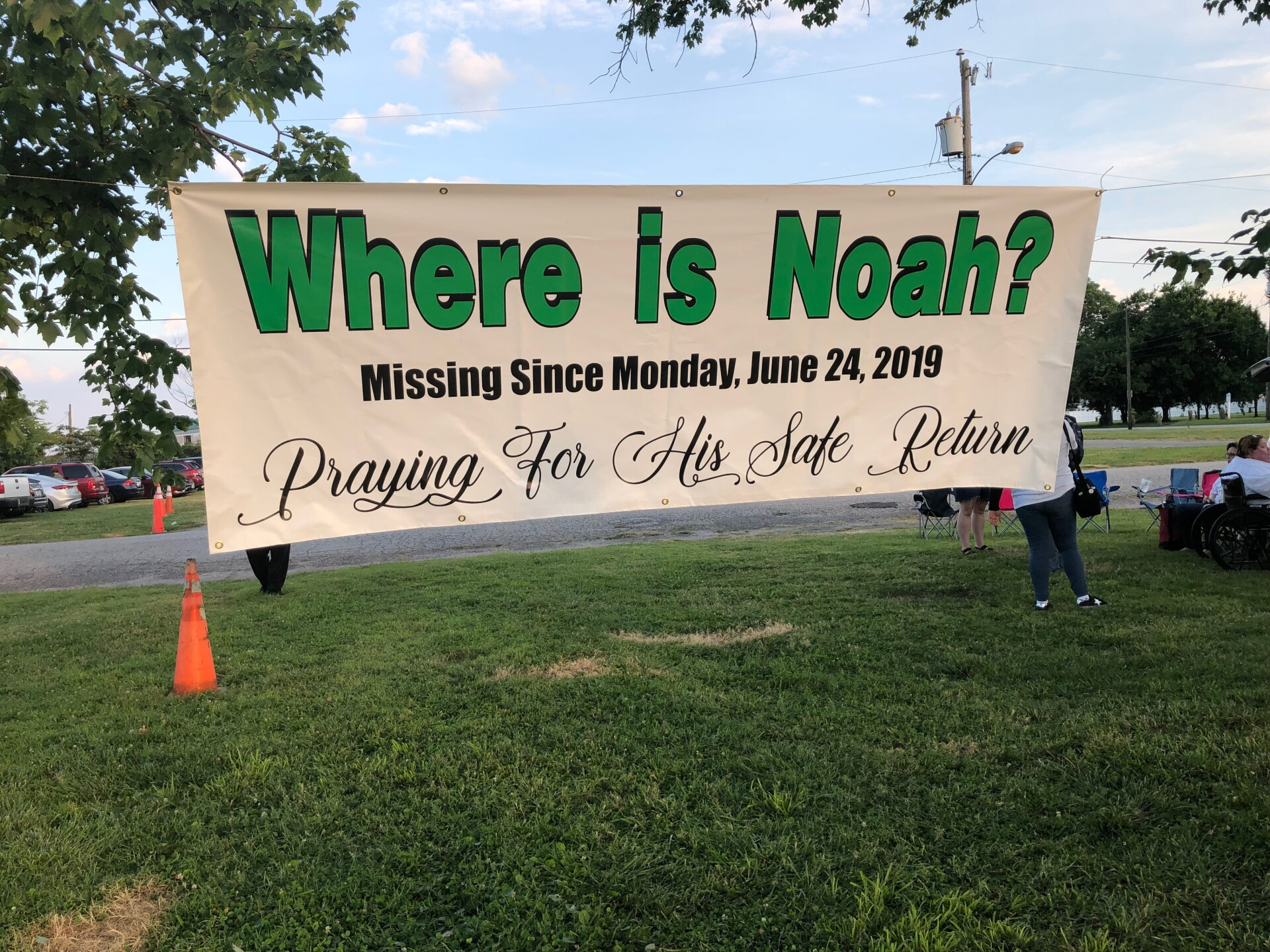 Photos: Buckroe community holds vigil demanding 'Justice for Noah'