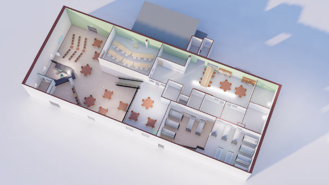 Mission at Kern County Redesign Mezzanne Level