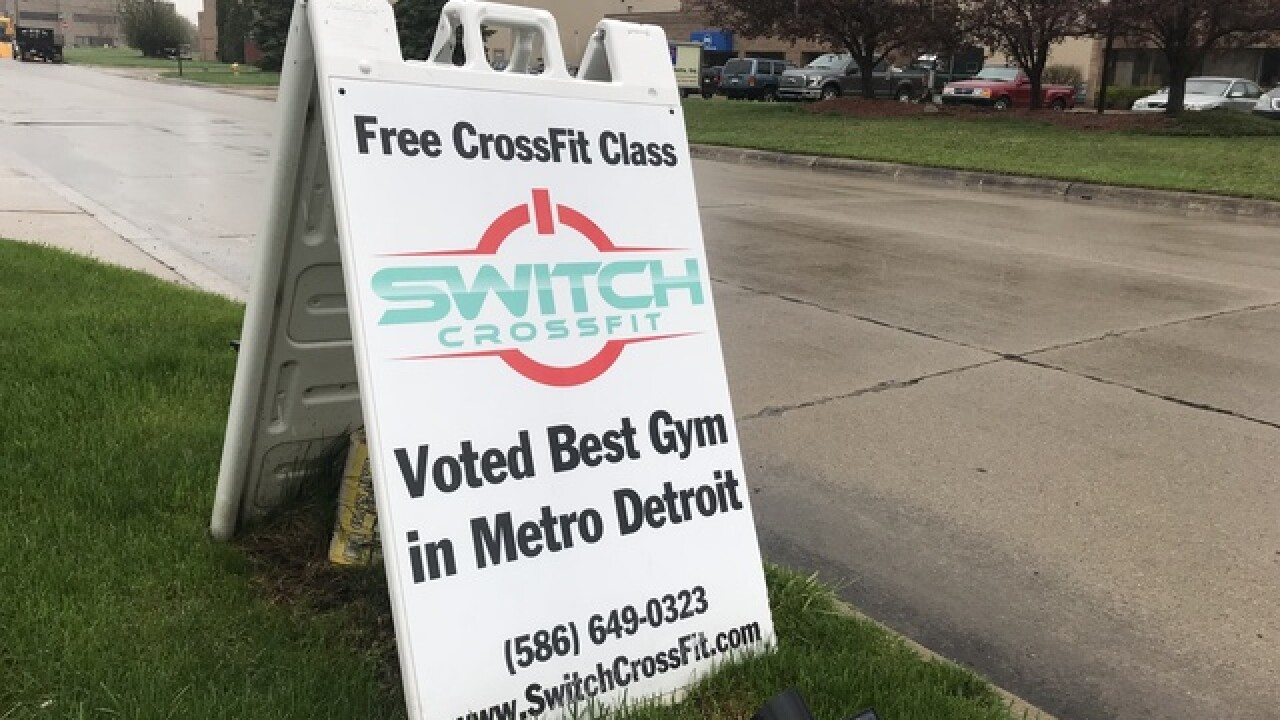 Hidden camera discovered in women's room at Switch CrossFit in Clinton Township