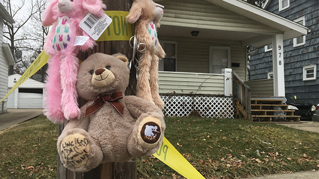 Toddler shot and killed on Akron's west side