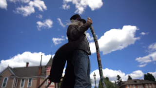 Man volunteers to be this small Colorado town's greeter to let visitors know 'they're family'
