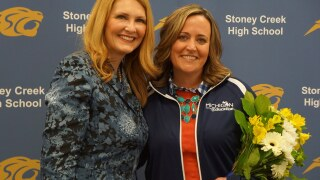 Cara Lougheed Rochester Stoney Creek Teacher of the Year