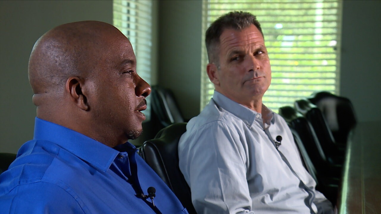 Cody Fletcher and Daniel Yarbrough, former telemarketers for a now-defunct medical device company in Delray Beach.