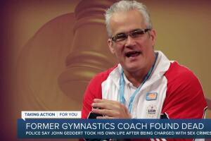 Former gymnastics coach found dead