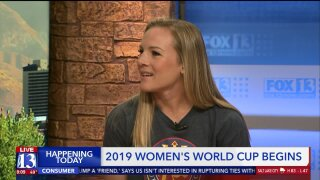 Utah Royals' Amy Rodriguez previews first full day of Women's World Cupaction