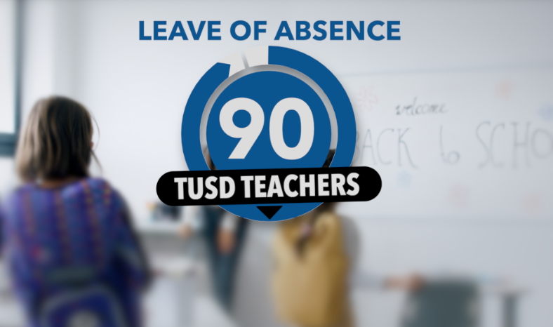 TUSD teachers take leave of absence