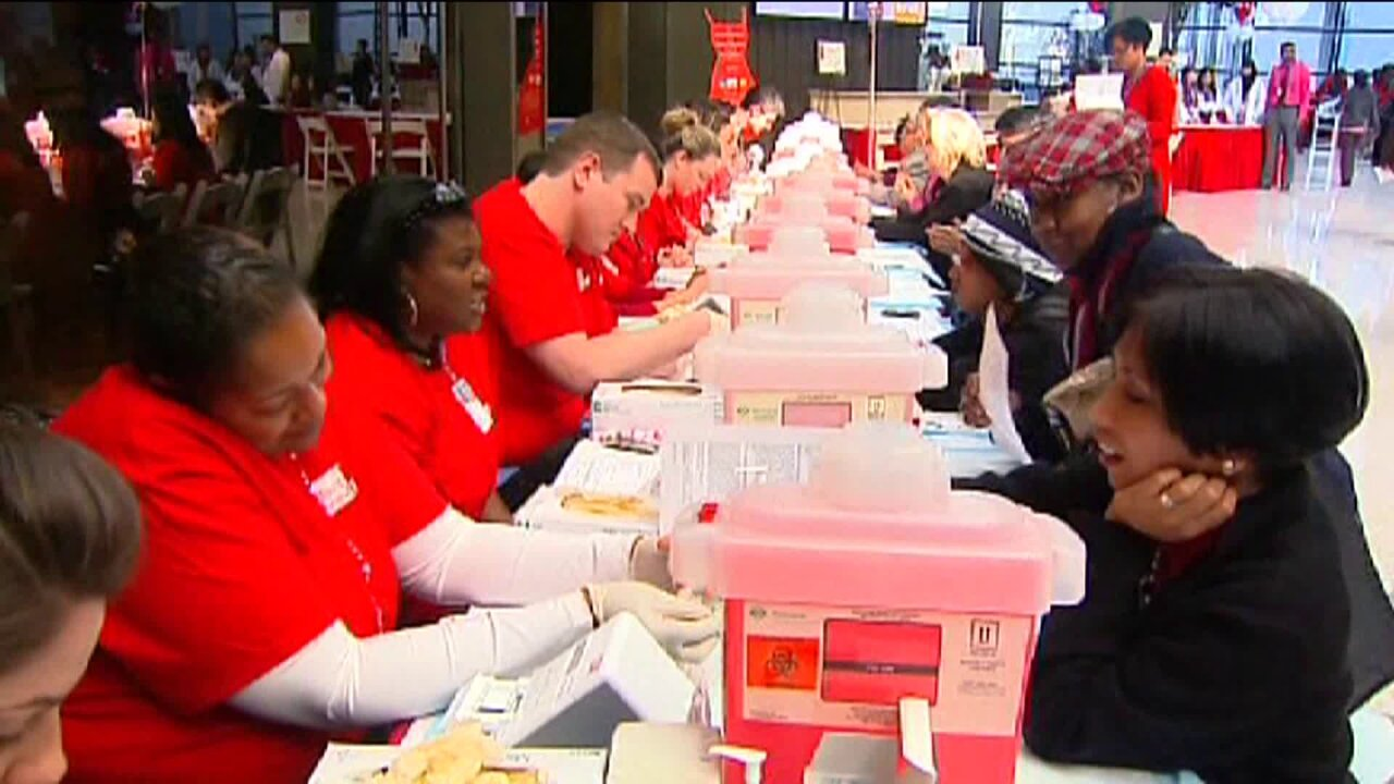 Free health screenings for Wear Red Day