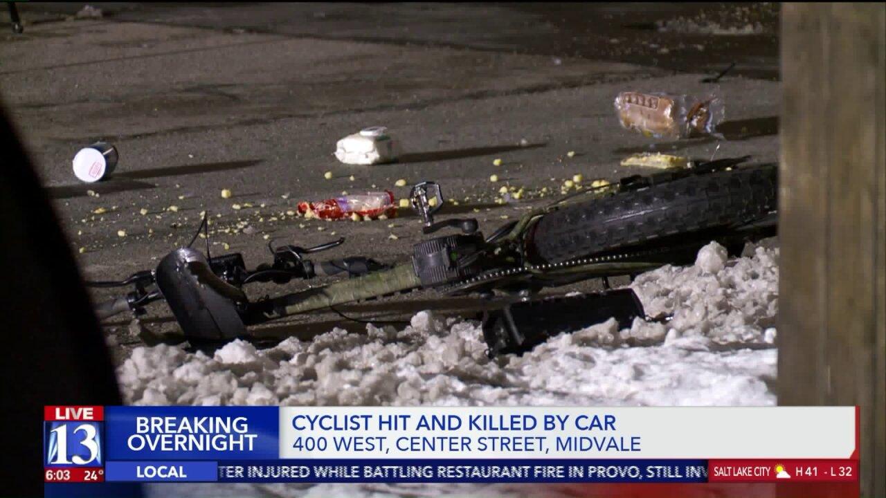 Unified Police identify cyclist killed in Midvalecrash