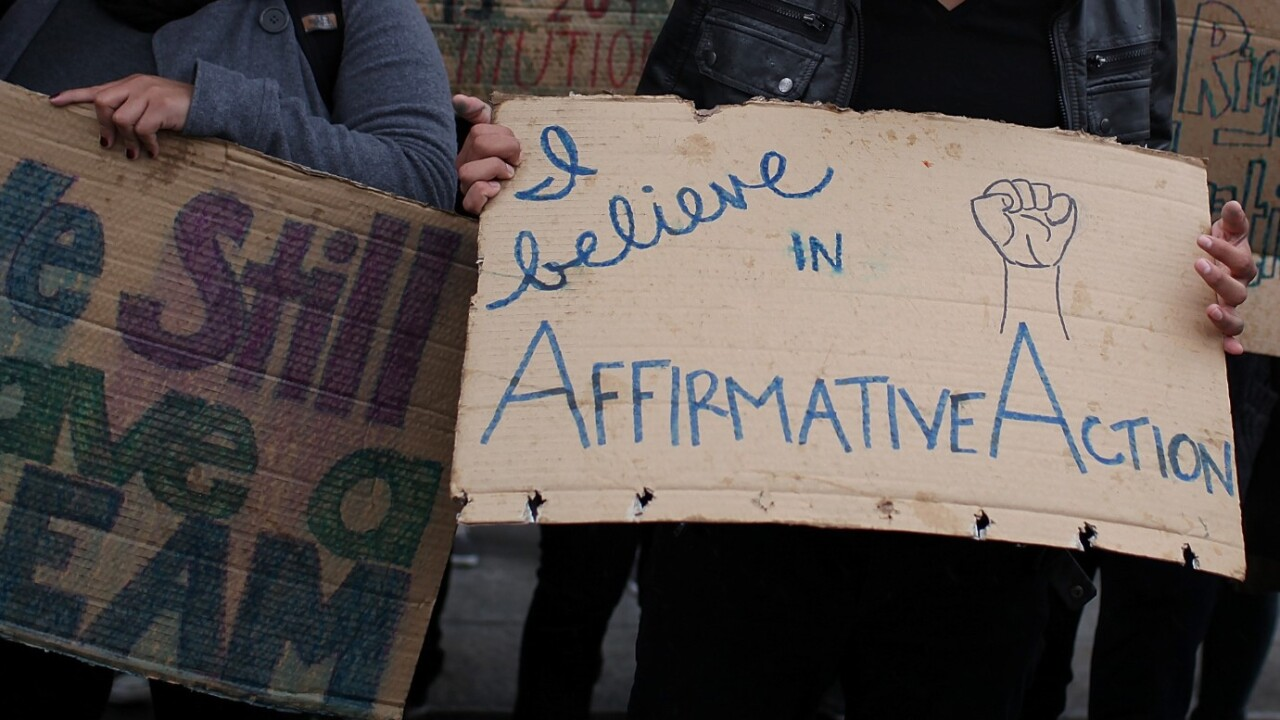 Washington state voters decide whether or not to restore affirmative action