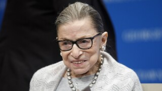 Ruth Bader Ginsburg admitted to hospital after chills and a fever