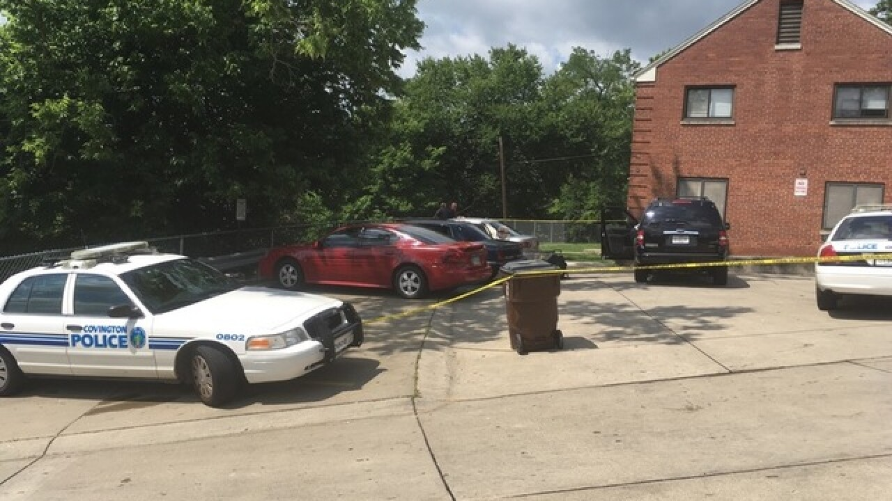 Man dead, woman injured after Covington shooting