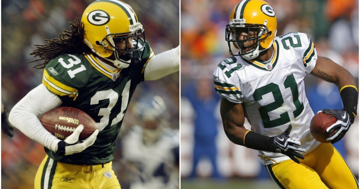 Green bay packers hall of fame to induct cornerbacks al harris charles woodson - Charles woodson packers wallpaper ...