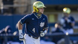FILE Carter Putz Florida St Notre Dame Baseball