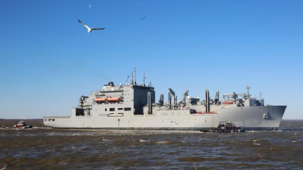 Military Sealift Command Ship