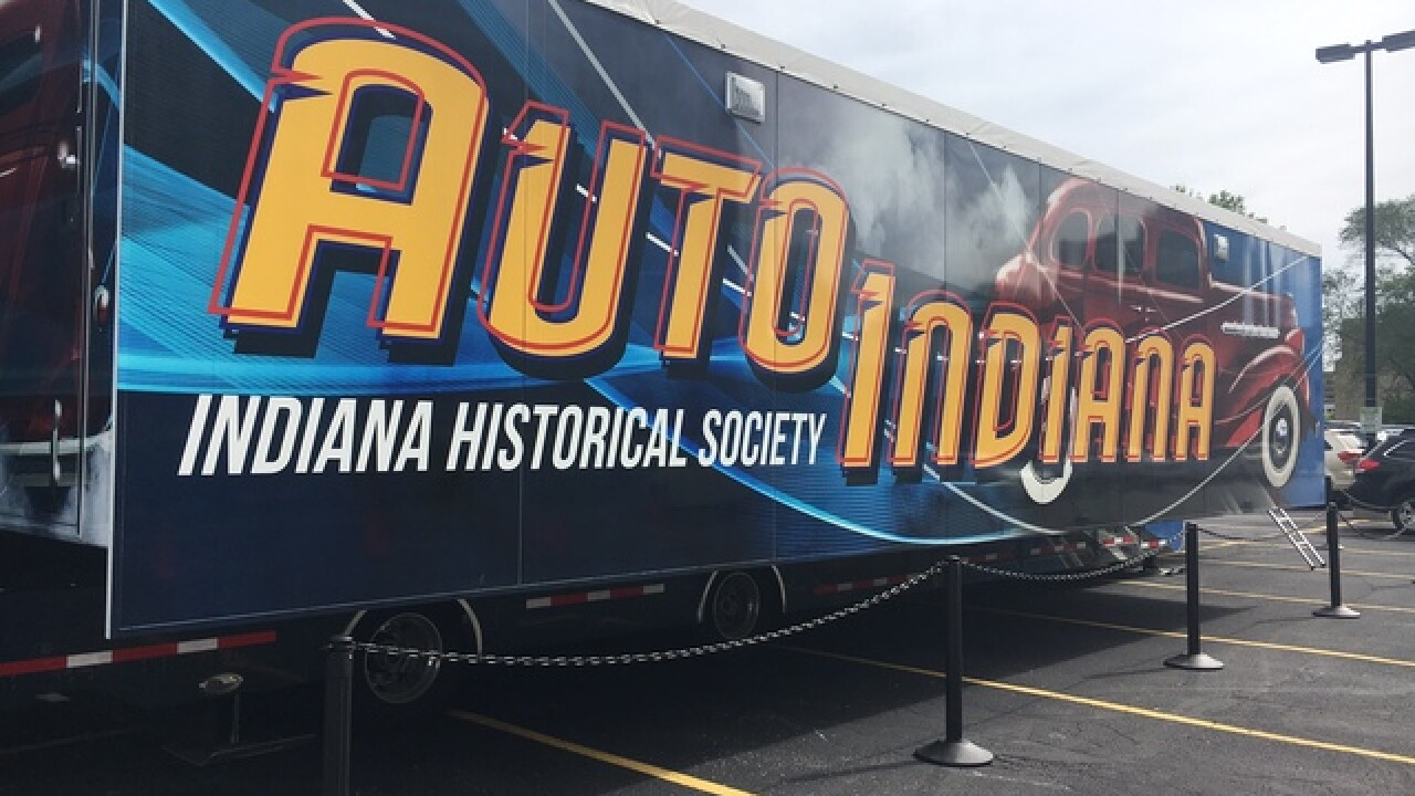 "PICS: ""History on Wheels"" history center exhibit"