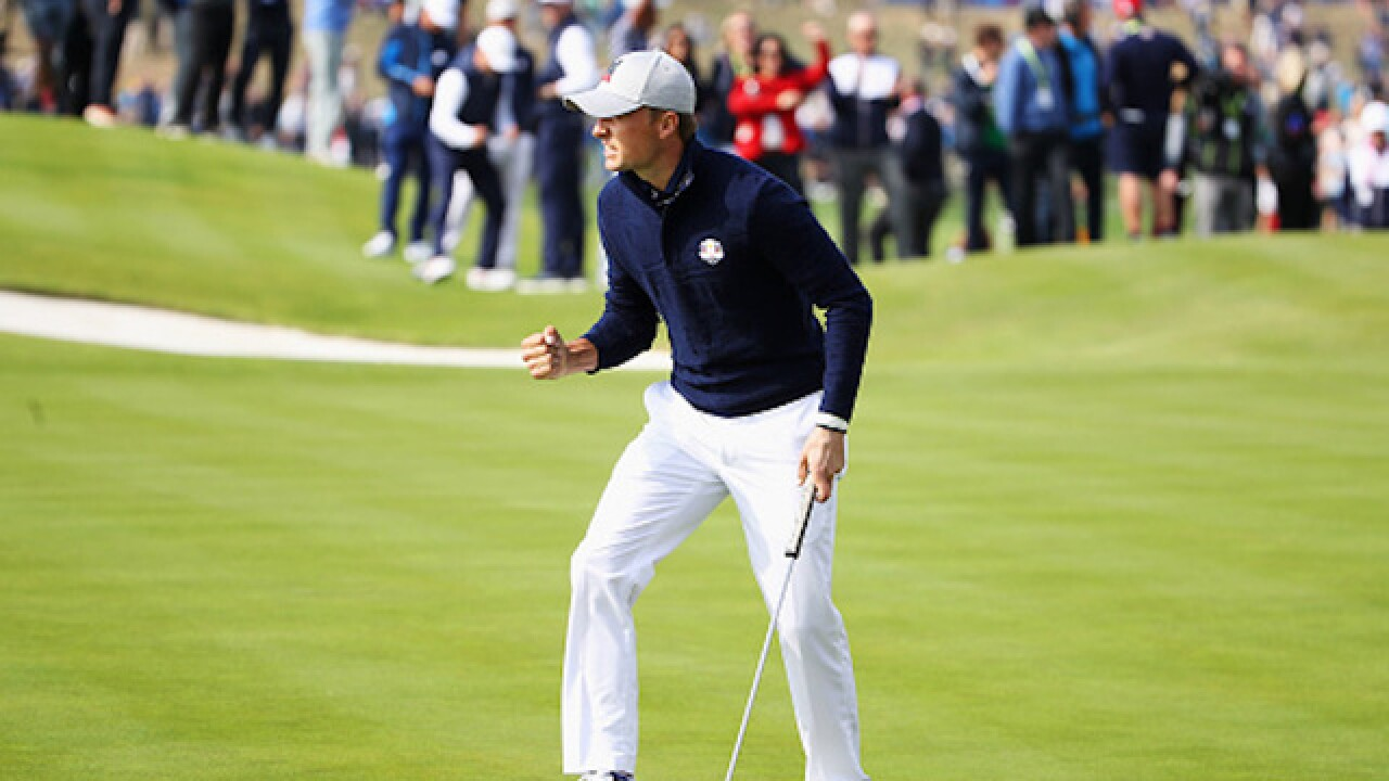Ryder Cup 2018: Europe launches historic fightback against USA