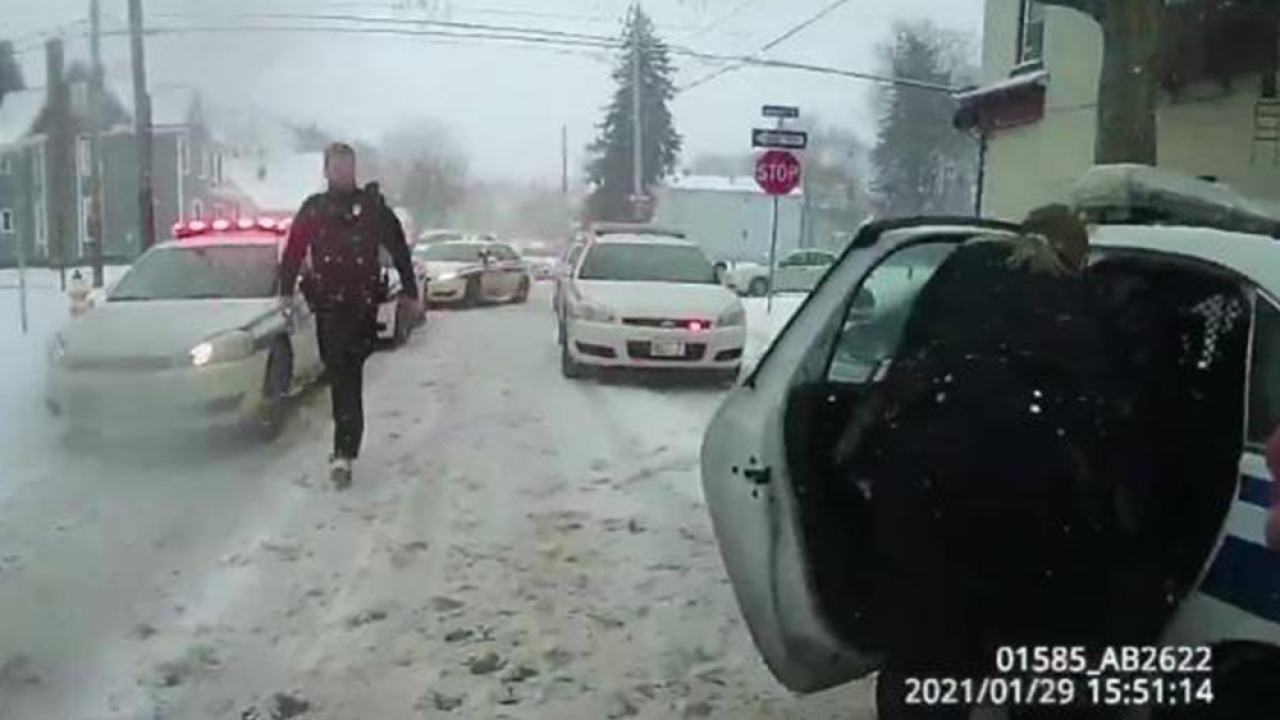 Rochester Body Cam footage