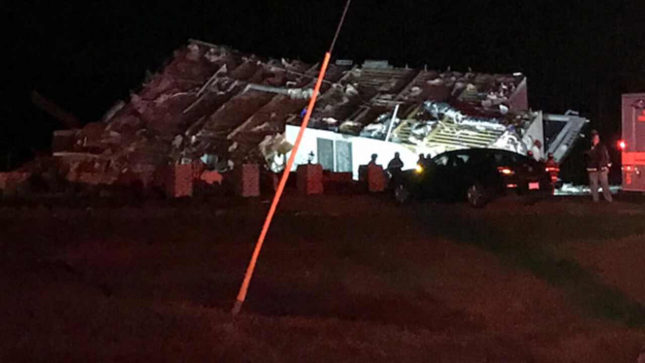 Severe storms cause damage in the mid-state