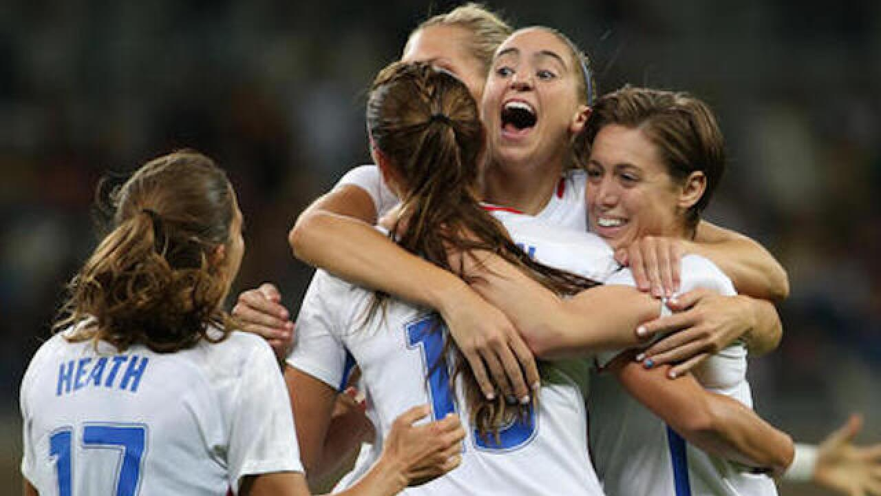 US women beats New Zealand 2-0 in Olympic soccer opener