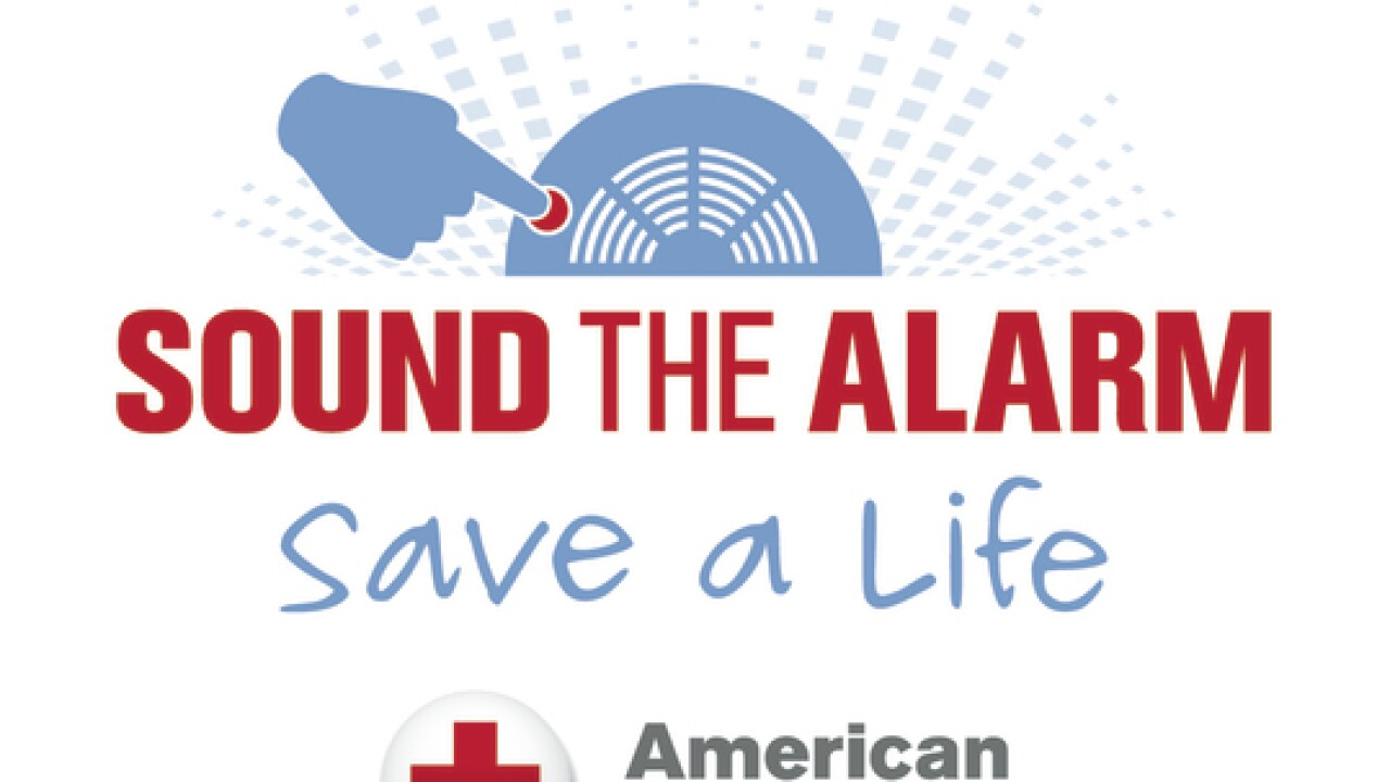 Red Cross- Sound the Alarm