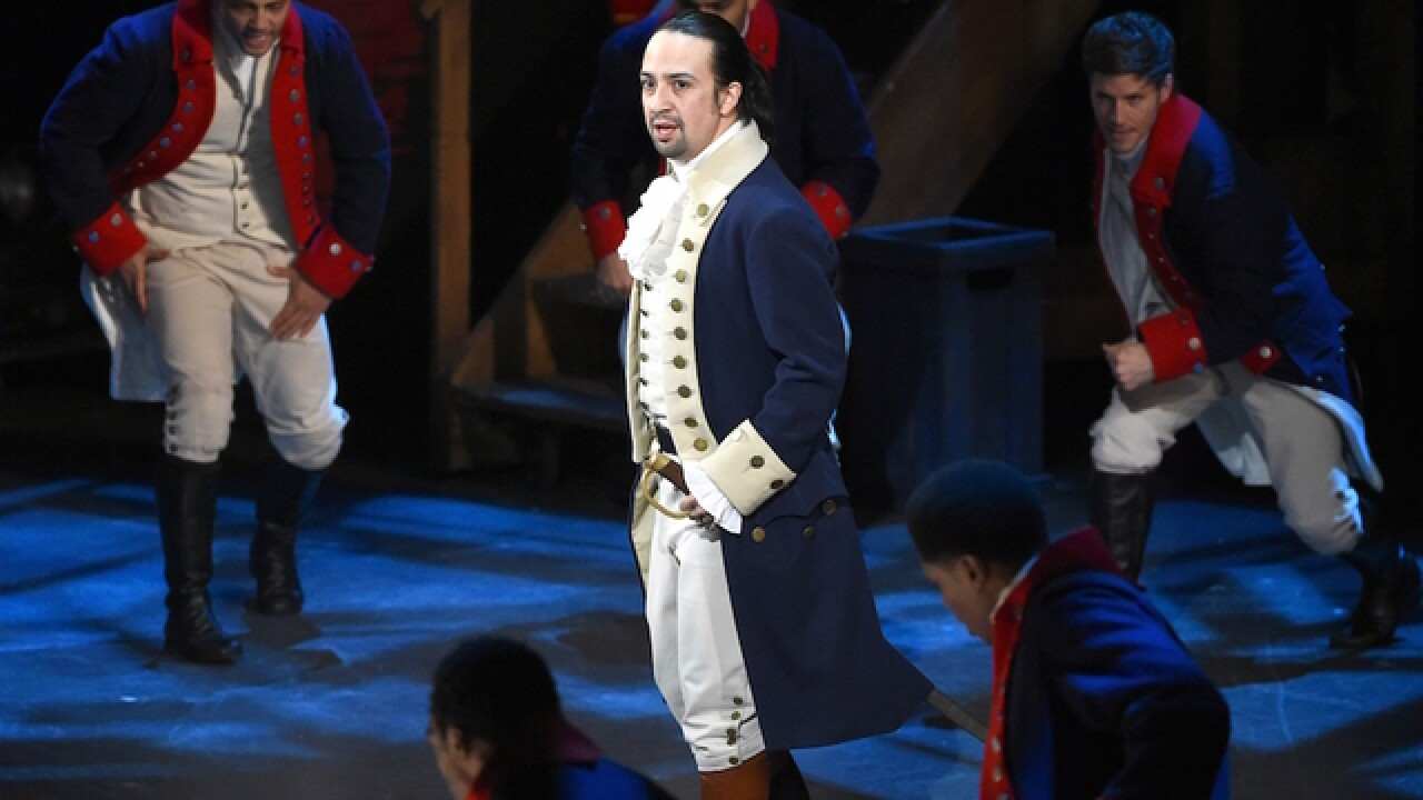 Lin-Manuel Miranda, creator of 'Hamilton,' says goodbye