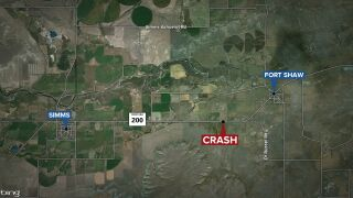 Fatal crash reported in Cascade County