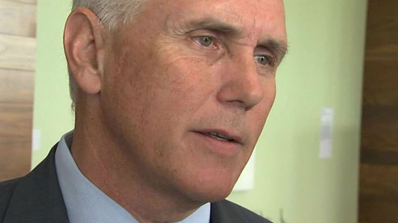 YOU REACT: Could Gov. Pence be the GOP nominee?