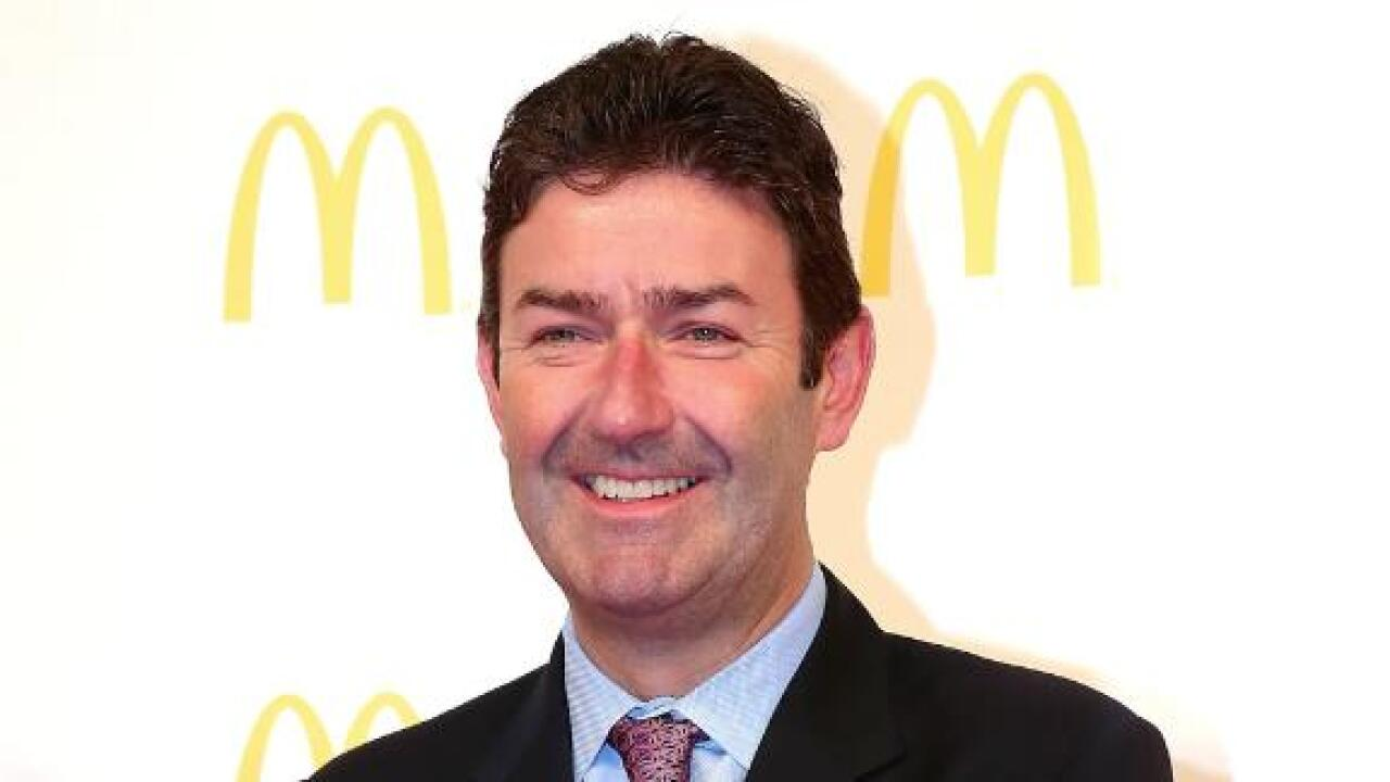 McDonald's CEO Steve Easterbrook is out for 'consensual relationship with an employee'