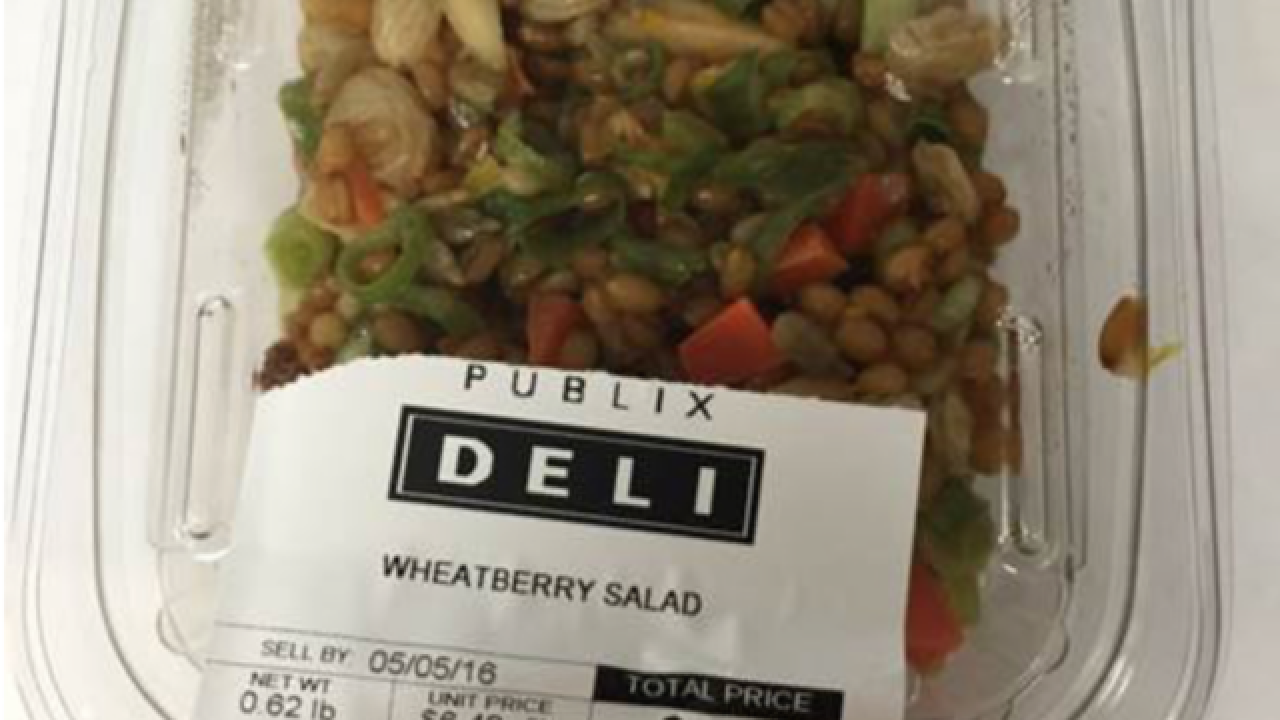 Salad product sold at Publix locations recalled