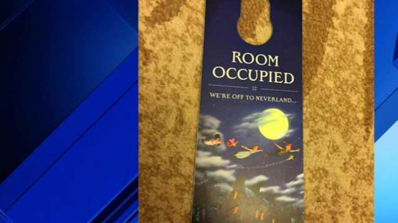 'Do Not Disturb' signs replaced with 'Room Occupied' at some Disney hotels