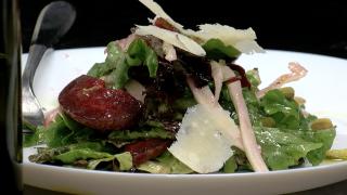 Fennel Salad with vinaigrette  dressing