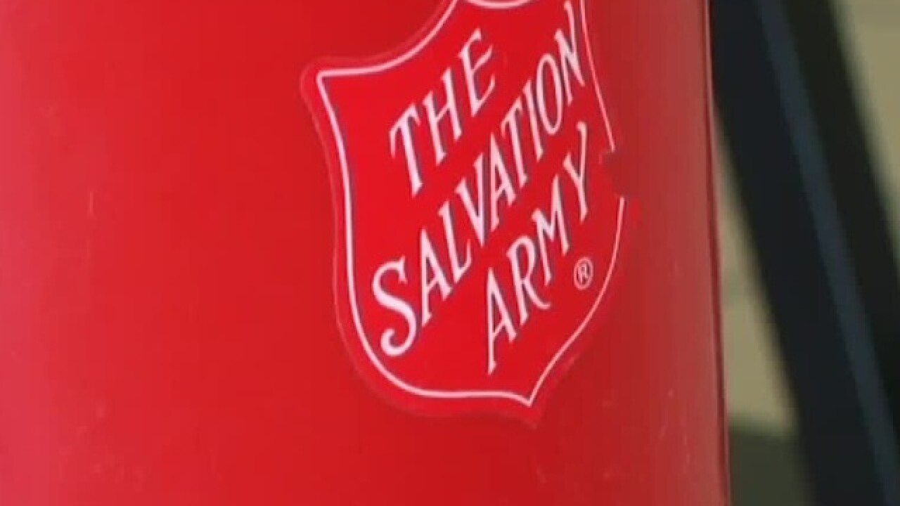 Salvation Army's Red Kettle campaign begins