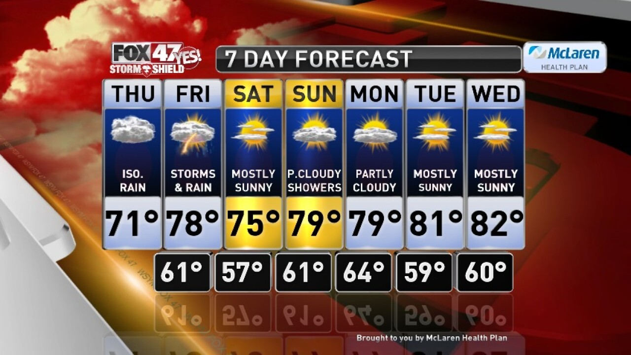 Claire's Forecast 9-12
