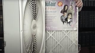 Homemade Air Purifier
